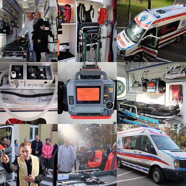Nowoczesny ambulans w naszym szpitalu