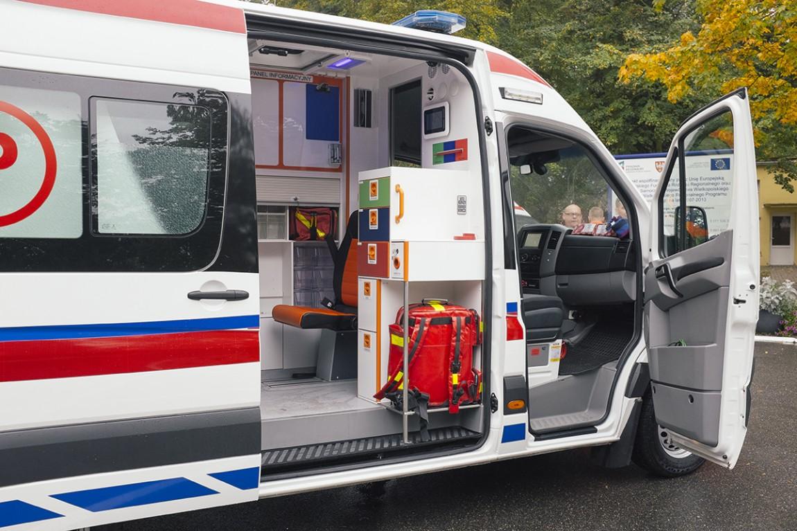 Nowy ambulans ratunkowy typu C