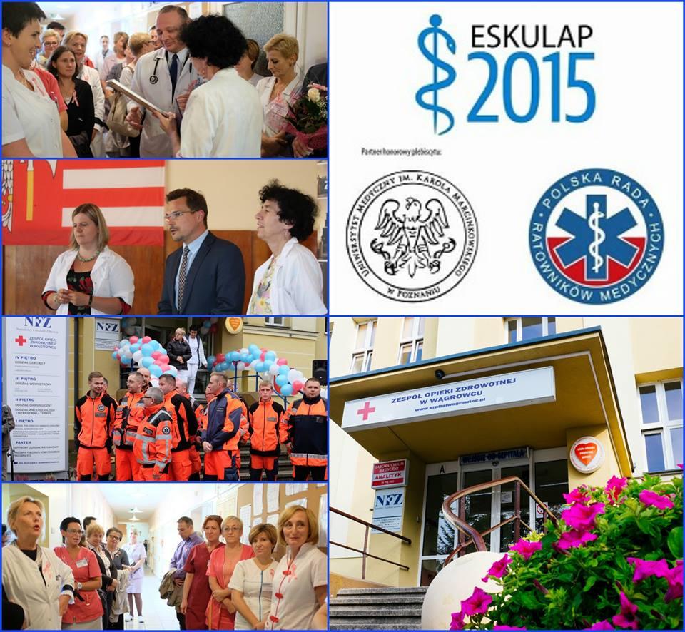 "Finał Plebiscytu ""ESKULAP 2015"""